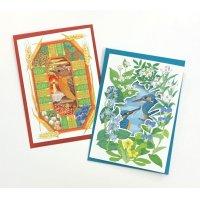 ミスヒロエ 野鳥のグリーティングカード