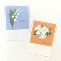 Far East Studio 花のポストカードセット