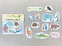 Stationery Zoo トウメイシールセット